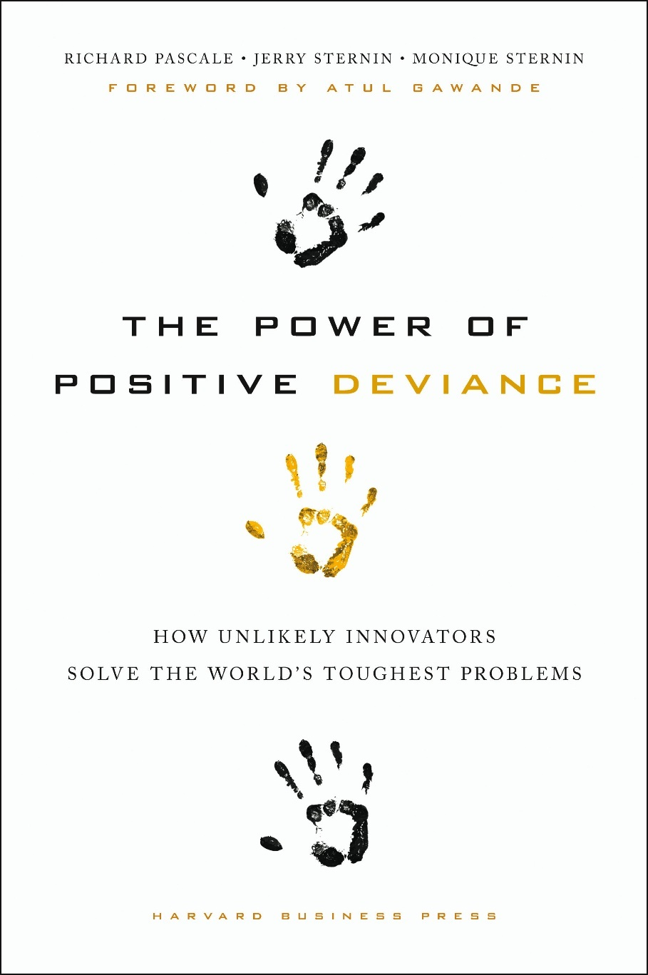 Power of Positive Deviance book cover