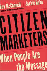 Citizen Marketers book cover