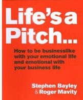 Life's a Pitch book cover