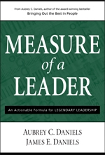 Measure of a Leader Book Cover