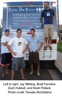 Jay Whiting, Brett Farmiloe, Zach Hubbell, and Noah Pollock