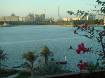 Dubai, skyline from across the water
