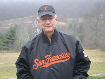 Tom Peters wearing San Francisco jacket