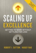 Scaling Up Excellence Book Cover