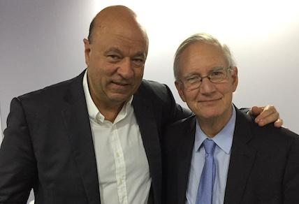 Jose Salibi Neto with Tom Peters